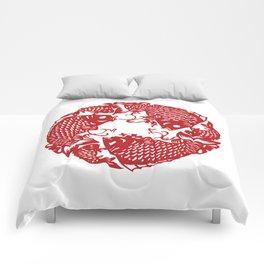 Chinese culture - Nian nian you yu. Comforters