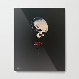 Rosenrot Metal Print