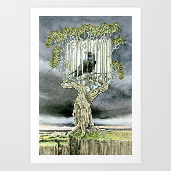 Wicked nature Art Print