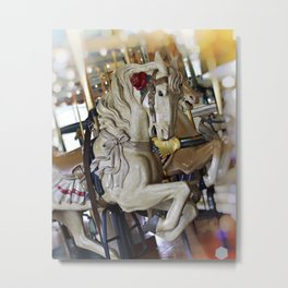 Carousel Belle Metal Print
