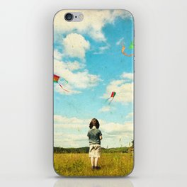 Fly away iPhone Skin