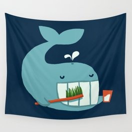 Brush Your Teeth Wall Tapestry