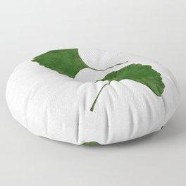 Ginkgo Leaf II Floor Pillow