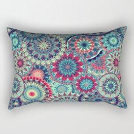 Mandala (Floral 001) Rectangular Pillow