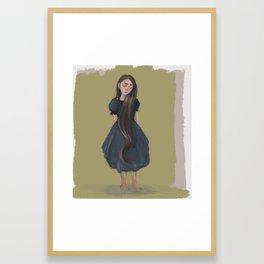 Hair Care Framed Art Print