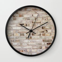 Brickwall Wall Clock