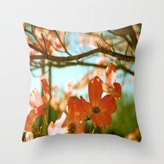 A Spring Day Throw Pillow