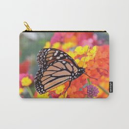 Monarch Feeding on Lantana Carry-All Pouch