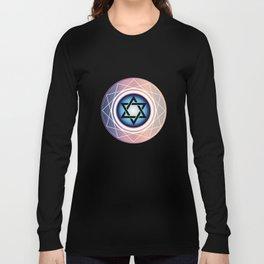Jewish Star of David Long Sleeve T-shirt