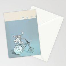 bicyclist... Stationery Cards