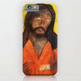 Jumpsuit Jesus iPhone Case