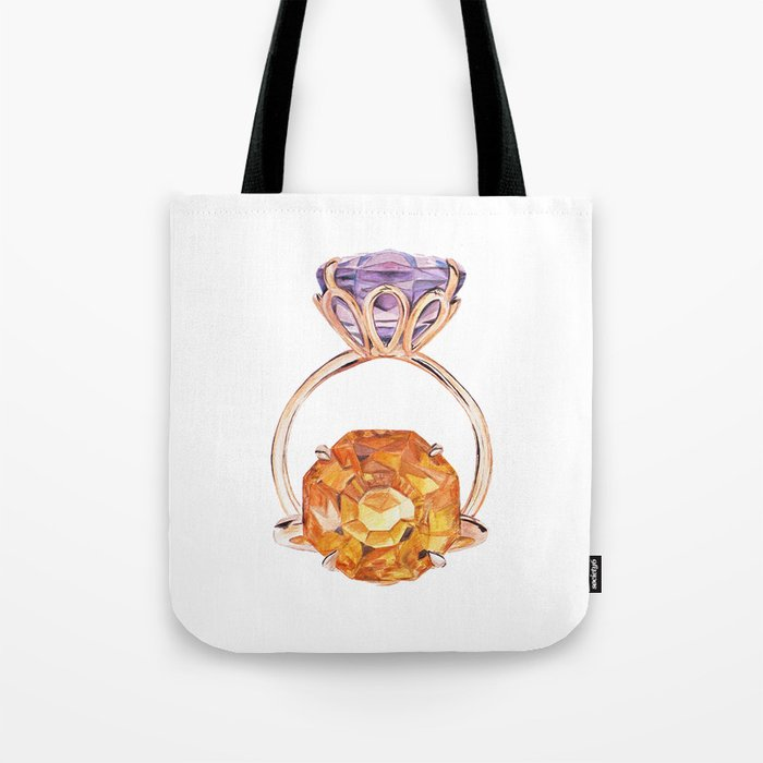 Circles in circles Tote Bag