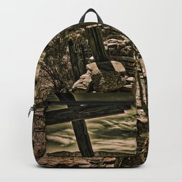 Crosses In Terlingua Backpack