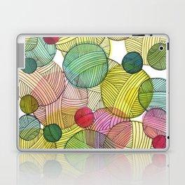 Yarn Stash Laptop & iPad Skin