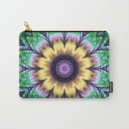 Bright flower mandala Carry-All Pouch