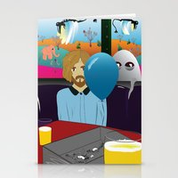 dylan Stationery Cards featuring Dylan by LylaLovitt