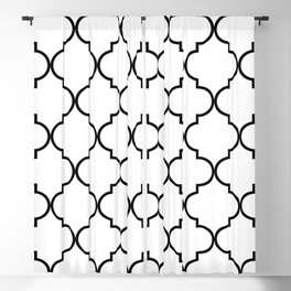 Moroccan Tiles Blackout Curtains For