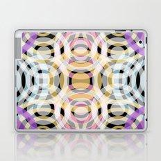 Wave Pattern 4, Black Laptop & iPad Skin