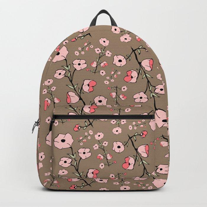 Stylized Sakura Backpack