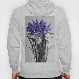 Lilac Flower Hoody