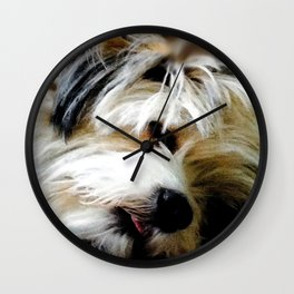 Miss Molly Wall Clock