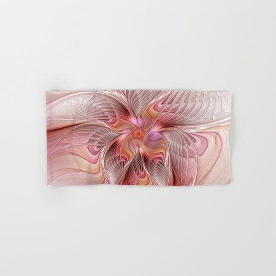 Abstract Butterfly, Fantasy Fractal Hand & Bath Towel
