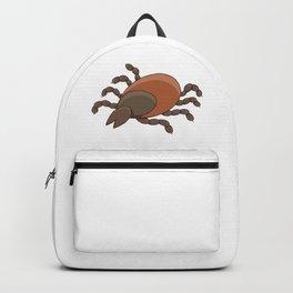 dangerous parasite - tick Backpack