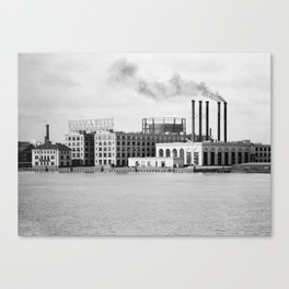 Detroit rubber Canvas Print