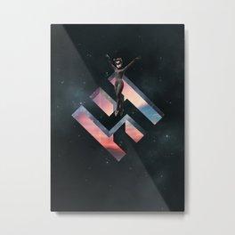 TipToe Metal Print