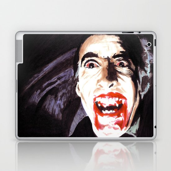 The Horror of Dracula Laptop & iPad Skin