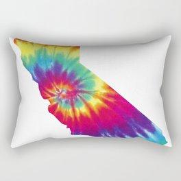 California Tie Dye Rectangular Pillow