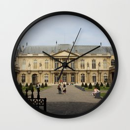 Archives nationales, Paris, France Wall Clock
