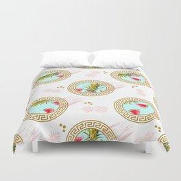Aztec Fruit Pattern Duvet Cover