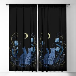 Two Cats Blackout Curtain