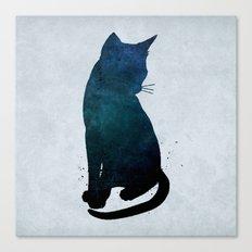 Dark Cat Canvas Print