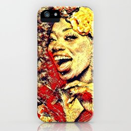 Ebony Joy iPhone Case