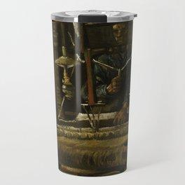 Vincent Van Gogh - A Weaver's Cottage Travel Mug