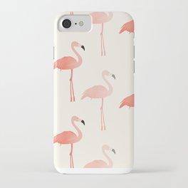 Double Flamingo iPhone Case
