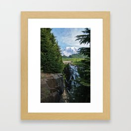 View from Paradise Framed Art Print