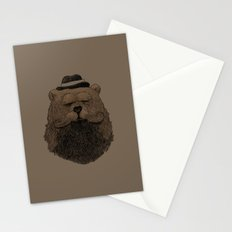 Grizzly Beard Stationery Cards