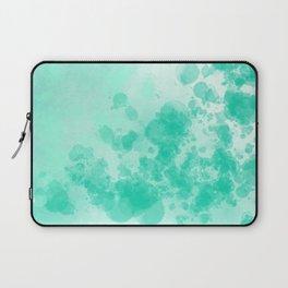 Abstract 2 - Blue Splatter Laptop Sleeve