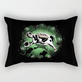 Wrong Place, Wrong Time Rectangular Pillow