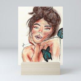 Jackie Mini Art Print