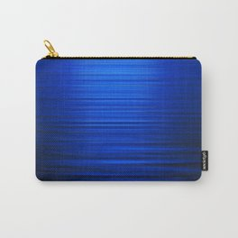 Sunset on the Water-Deep Blue Carry-All Pouch