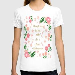 Little But Fierce (Digital) T-shirt