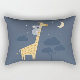 Reach for the stars, don't be afraid to ask for help Rectangular Pillow