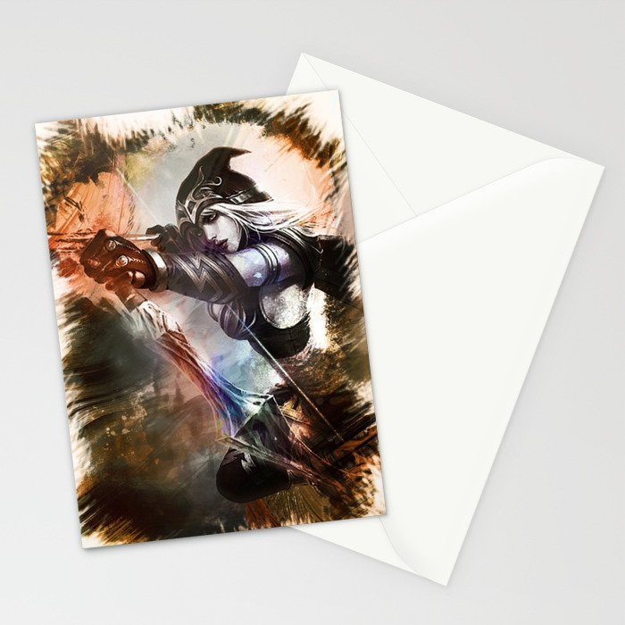 League of Legends ASHE Stationery Cards