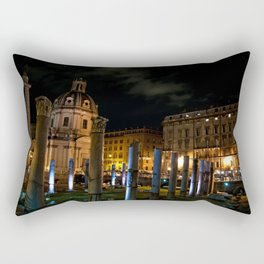Roma, fori | Rome, forum Rectangular Pillow