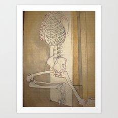 Bone Dance Art Print