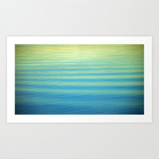 SIMPLY WATER Art Print